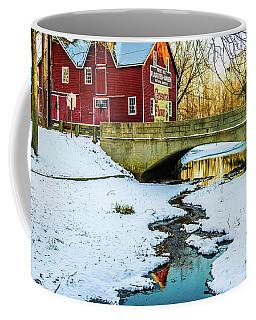 Kirby's Mill Landscape - Creek Coffee Mug