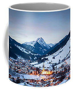 Kirchberg Austria In The Evening Coffee Mug