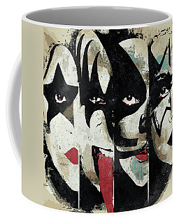Kiss Art Print Coffee Mug