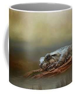 Coffee Mug featuring the photograph Kiss Me by Steven Richardson