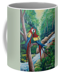 Kiss On The Forest Coffee Mug