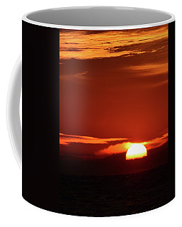 Coffee Mug featuring the photograph Kissing The Clouds Sunrise  by Lyle Crump