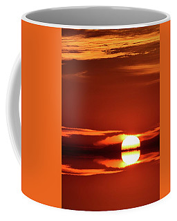 Coffee Mug featuring the photograph Kissing The Clouds Sunrise Two  by Lyle Crump