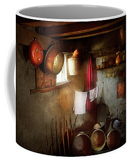 Coffee Mug featuring the photograph Kitchen - Homesteading Life by Mike Savad