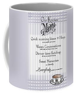 Coffee Mug featuring the digital art Kitchen Menu by Robin-Lee Vieira