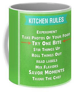 Kitchen Rules Coffee Mug