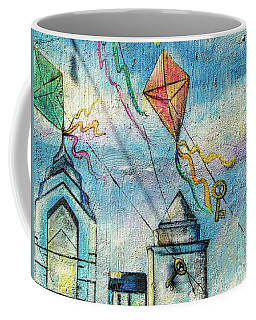 Kites And Keys Coffee Mug