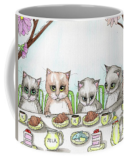Kitten Tea Party Coffee Mug