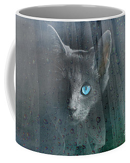 Kitty At The Window Coffee Mug
