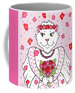 Kitty Bride Coffee Mug