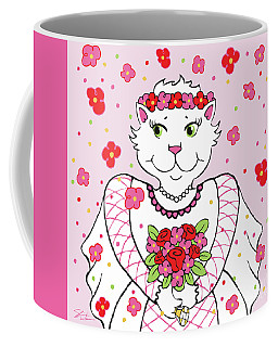 Kitty Bride Coffee Mug