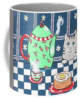 Kitty Cat Tea Time Coffee Mug