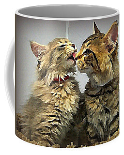 Kitty Kisses Coffee Mug
