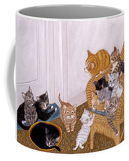 Kitty Litter II Coffee Mug