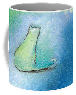 Kitty Reflects Coffee Mug