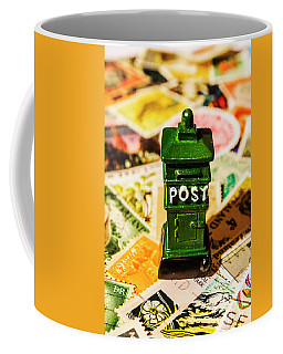 Kiwi Postage Scene Coffee Mug