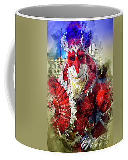 Knave Of Hearts Coffee Mug by Jack Torcello