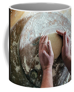 Kneading And Making Dough Coffee Mug
