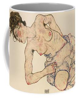 Kneider Weiblicher Halbakt Coffee Mug