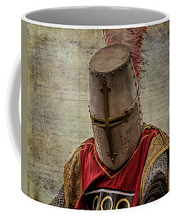 Coffee Mug featuring the photograph Knight In Armor by Mary Hone