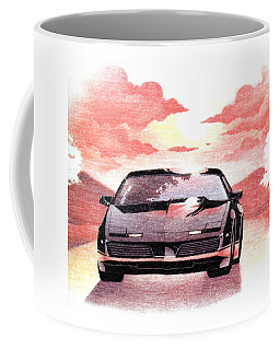 Knight Rider Coffee Mug by Gina Dsgn