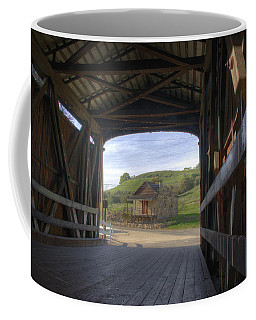 Knights Ferry Covered Bridge Coffee Mug