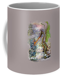 Knights N Dragons Coffee Mug