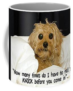 Knock Coffee Mug