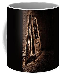 Knockin' At The Wrong Door Coffee Mug