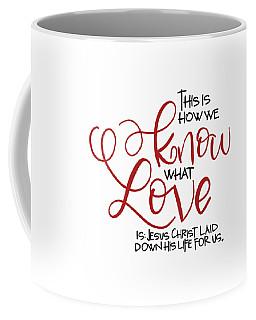 Know Love Coffee Mug