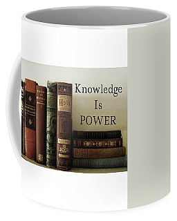 Knowledge Is Power Coffee Mug