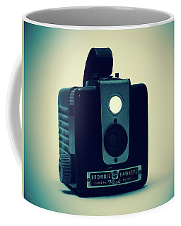 Coffee Mug featuring the photograph Kodak Brownie by Bob Orsillo