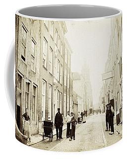 Koestraat Te Schoonhoven, Netherlands, C. 1870 - 1880 Coffee Mug