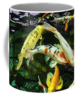 Coffee Mug featuring the photograph Koi 2018 2 by Phyllis Spoor