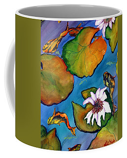 Koi Pond II Sold Coffee Mug by Lil Taylor