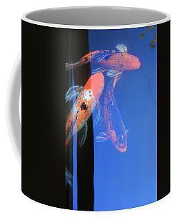 Koi Vi  Blue Coffee Mug