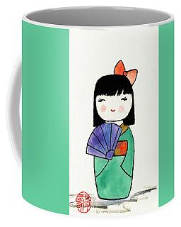 Kokeshi Doll Coffee Mug