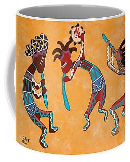 Kokopelli Trio Coffee Mug