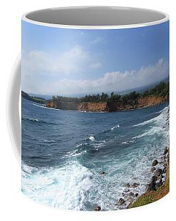 Coffee Mug featuring the photograph Kolaha Coast by Pamela Walton