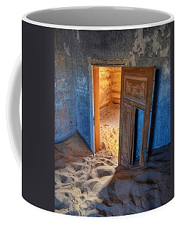 Coffee Mug featuring the photograph Kolmanskop by Rand