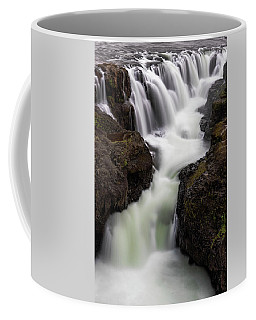 Kolugljufur Waterfalls Coffee Mug
