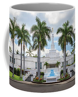 Kona Hawaii Temple-day Coffee Mug