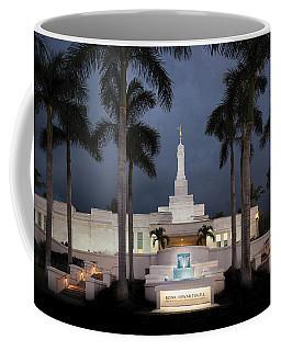 Kona Hawaii Temple-night Coffee Mug