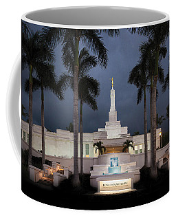 Kona Hawaii Temple-night Coffee Mug