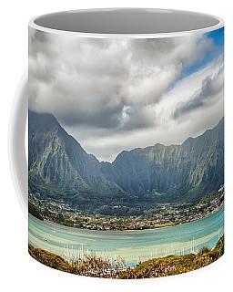 Ko'olau And H-3 In Color Coffee Mug