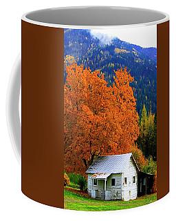 Kootenay Autumn Shed Coffee Mug