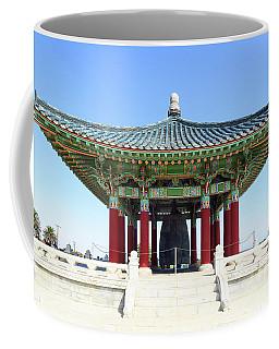 Korean Friendship Bell In Los Angeles Coffee Mug
