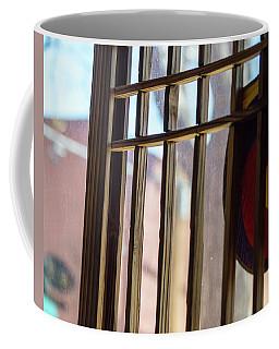 Korean In Flagstaff Coffee Mug by Carolina Liechtenstein