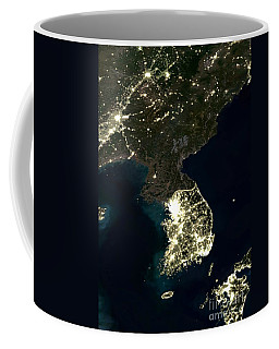 Korean Peninsula Coffee Mug