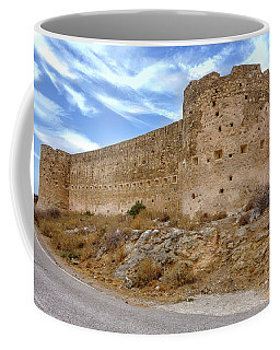 Koulos Fortress At Aptera Coffee Mug